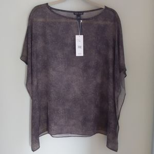 Eileen Fisher silk top M